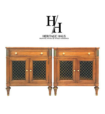 Pair of Belvedere Collection Nighstands by Kindel Furniture