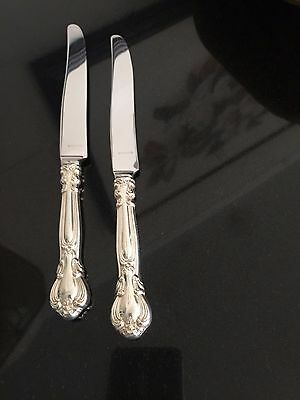 """Gorham Sterling CHANTILLY 8 5/8"""" French Hollow Dinner Knife - up to 2 Available"""