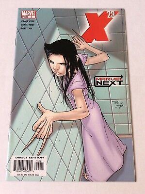 X-23 #2 2005 Marvel Next  Kyle Tan origin clone daughter Wolverine Logan NM 9.2