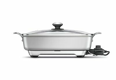 Brand New Breville L.P. BEF460 Thermal Pro Banquet Skillet, Silver