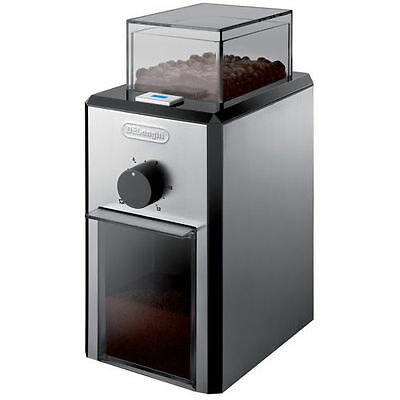 Brand New DeLonghi Burr Coffee Grinder Coarse to Fine Grind 4-12 Cups of Coffee
