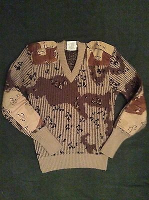 THE WOOLY PULLY ARMY DESERT JUMPER 6colors ´chocolate ´ size L 44