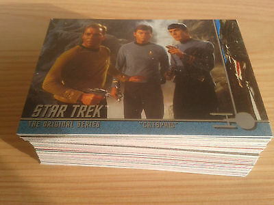 Star Trek TOS The Original Series Season 2 Base Cards 91-171 Set & wrapper