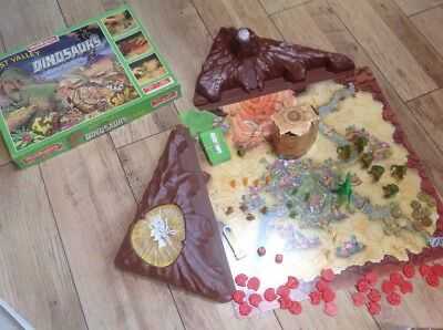 Lost Valley of the Dinosaurs Vintage Board Game Waddingtons 100% Complete
