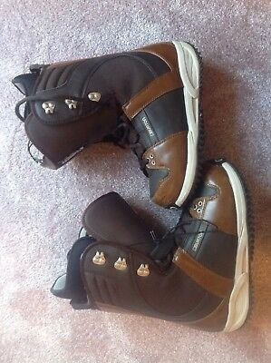 Mens Burton Freestyle Snowboard Boots Size 9