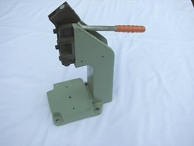Manual Hand Press Toggle Bench Work Top Punch Made in England