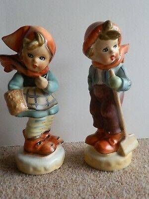 TWO Hummel / Goebel Style - Large Figurines