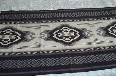 Neutral Colors Gray-Black-White Pendleton Beaver State Robes and Shaw Blanket US