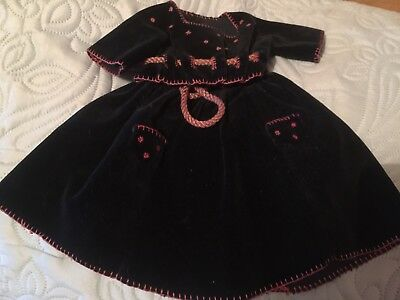 Beautiful Antique Dolls Outfit With Original Full Underwear