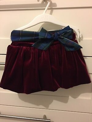 Ralph Lauren Girls Skirt 12 Months