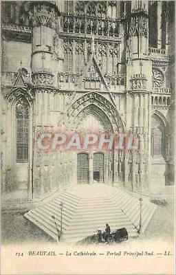 Vintage Postcard Beauvais the Cathedral
