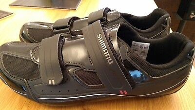 Shimano R065 SPD-SL road shoes size 47 (UK size 12) - worn only once