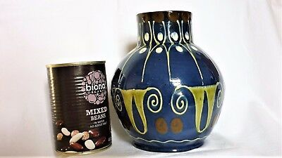 Antique Jugendstil/Art Nouveau Art/Studio Pottery Vase- P.A.W.- Paul Wranitzky