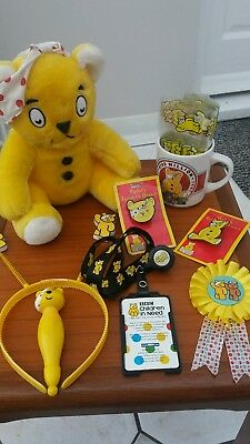 Children in need pudsey items