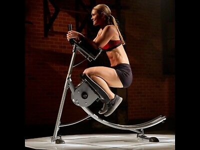 Abcoaster Ab Coaster Machine Abdominal Fitness Crunch Pro Core Exercise Glider