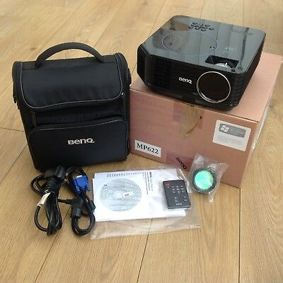 BenQ MP622 projector used