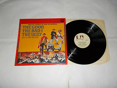 The Good, The Bad and the Ugly OST- Ennio Morricone LP United Artists 1968