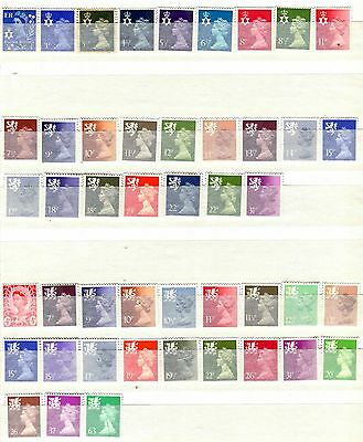 Northern Ireland, Scotland, Wales, Monmouthshire 46 Mint/mnh Stamps 1958 - 1993