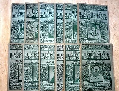 The Bookman Illustrated History Of English Literature. 1905. Complete 12 Vol Set