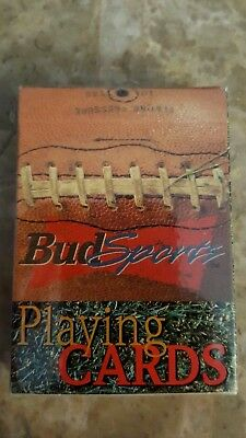 bud sports playing cards by bicycle playing cards Poker Cards New Bud Sports