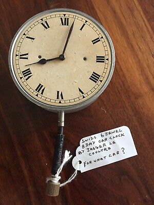 Jaeger le coultre Car Clock Pre War 1920s Citroen AC4 limousine