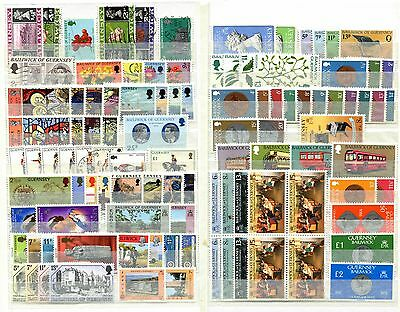 Guernsey 1968 -  1991 ***** 98 Stamps
