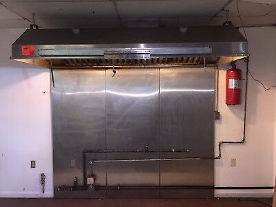 8' Commercial Stainless Steel Kitchen Exhaust Hood