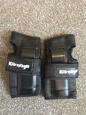Karnage wrist guards/wrist protectors size small ladies/mens