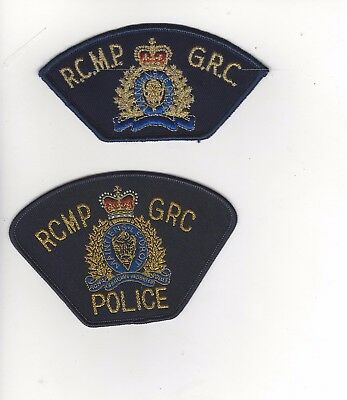 RCMP GRC Set of 2 Patches