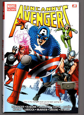UNCANNY AVENGERS - Marvel Omnibus HC Hardcover - by Rick Remender & Gerry Duggan