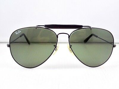 90's Ray Ban Outdoorsman II Aviator 62mm B&L USA L2114 + Case