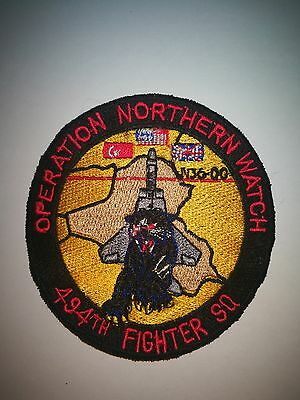 RAF Lakenheath 494th patch USAF 48thFW