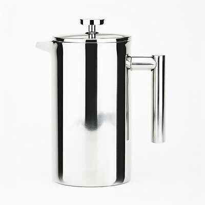 Cuisinox Stainless Steel 0.85 Qt. 4 Cup French Press Coffee Maker