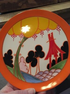 Clarice Cliff Limited Edition Summerhouse Plate
