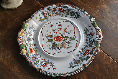 1847 A Large Copeland Late Spode Chinoiserie Pudding Platter