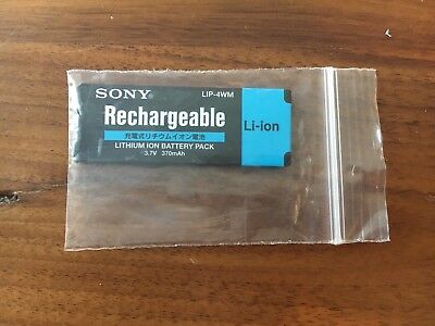 Sony LIP-4WM Rechargeable Battery for Minidisc Players/Recorders