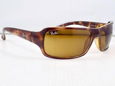 Ray Ban Highstreet Wrap RB4075 642 Sunglasses & case