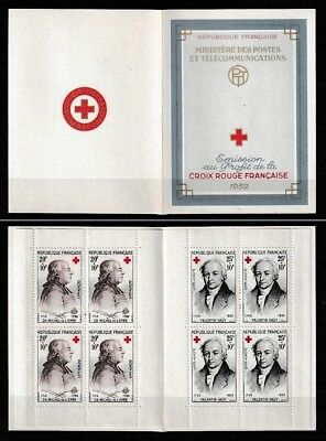 TIMBRES FRANCE 1959 - Carnet Croix-Rouge N**