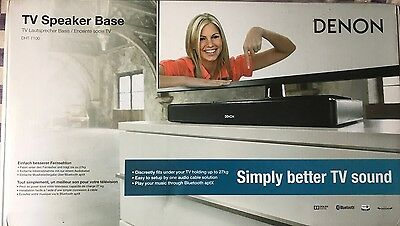 Dennon DHT-T100 TV Speaker Base/Sound Bar With Bluetooth And Remote