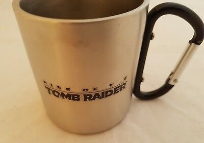Pc Sony Ps4 Microsoft Xbox Rise Of The Tomb Raider Tin Cup New & Rare