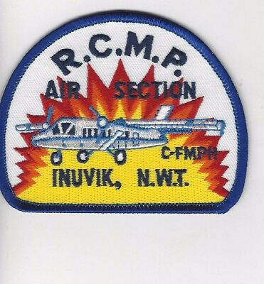RCMP Air Section Inuvik, NWT Patch- Canada