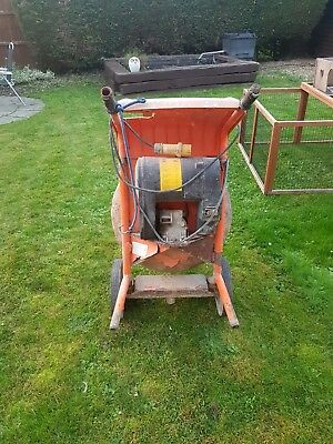 belle 150 cement mixer no stand but works