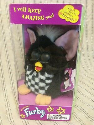 NEW SEALED Furby Electronic Special Racing Edition 1999 New & Unopened 70-891