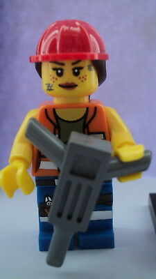 Lego Collectable Minifigures The Lego Movie Gail the Construction Worker Figure