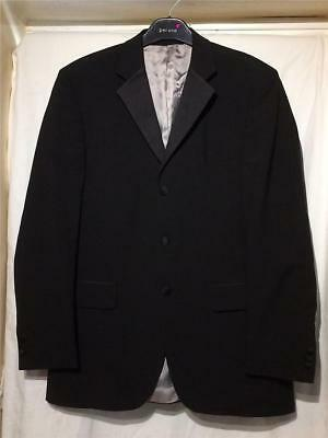 EW9. 40L Sovereign Black Wool Mix Dinner Jacket