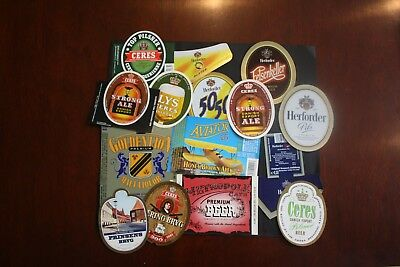 Denmark, Small lot of mainly Danish Beer Labels.