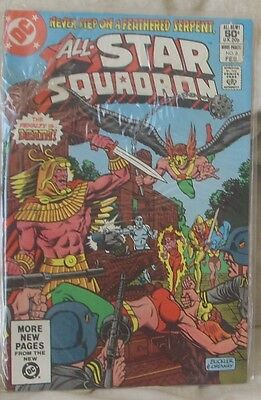 ALL STAR SQUADRON Issue 6 February 1982 DC Comics Justice Society JSA