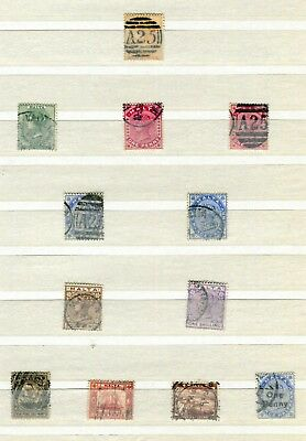 Malta 1863 – 1902 ***** 13 Used Stamps
