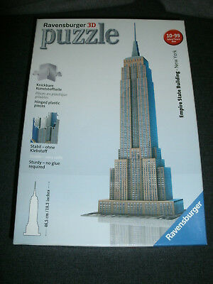 Ravensburger 3 D Puzzle Empire State Building 216 Teile komplett in OVP