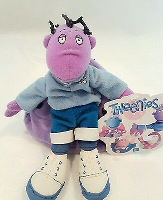 The Tweenies Milo soft toy on removeable bean bag NWT